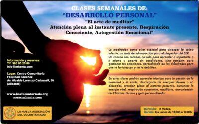 clases Alicante centro comunitario mañanas 2019